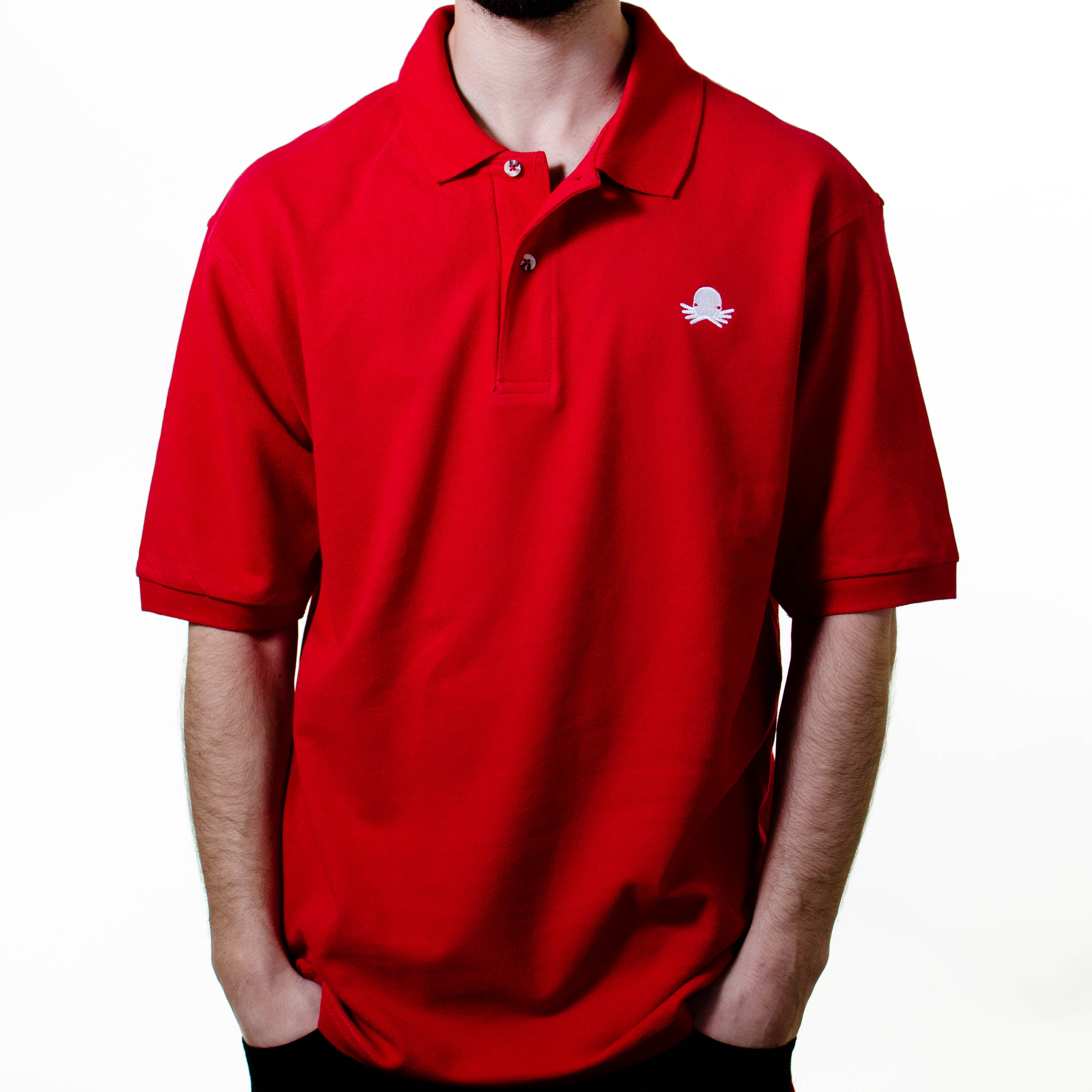 Red Octo Polo